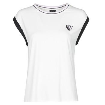 Oblečenie Ženy Tielka a tričká bez rukávov Volcom SIIYA KNIT TOP Biela