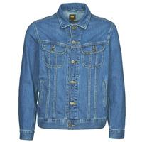 Oblečenie Muži Džínsové bundy Lee LEE RIDER JACKET Modrá