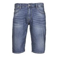 Oblečenie Muži Šortky a bermudy Le Temps des Cerises JOGG BERMUDA Modrá