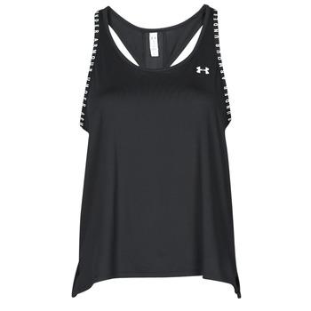 Oblečenie Ženy Tielka a tričká bez rukávov Under Armour UA KNOCKOUT TANK Čierna