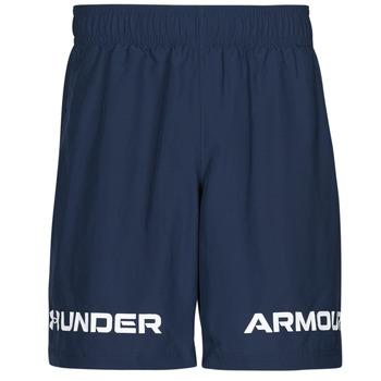 Oblečenie Muži Šortky a bermudy Under Armour UA WOVEN GRAPHIC WM SHORT Modrá