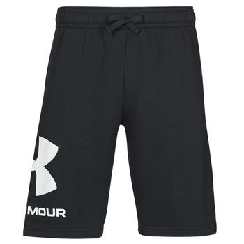 Oblečenie Muži Šortky a bermudy Under Armour UA RIVAL FLC BIG LOGO SHORTS Čierna