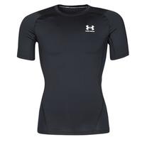 Oblečenie Muži Tričká s krátkym rukávom Under Armour UA HG ARMOUR COMP SS Čierna