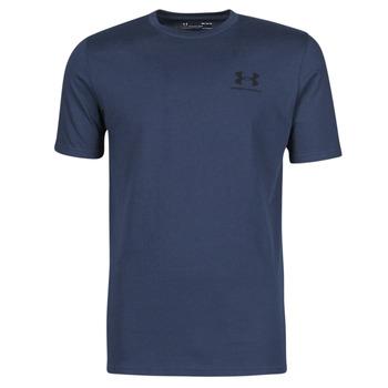 Oblečenie Muži Tričká s krátkym rukávom Under Armour UA SPORTSTYLE LC SS Modrá