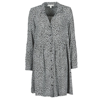 Oblečenie Ženy Dlhé šaty Esprit ROBE PRINT Čierna