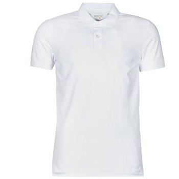 Oblečenie Muži Polokošele s krátkym rukávom Esprit COO N PI PO SS Biela