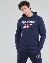 Oblečenie Muži Mikiny Reebok Classic RI FT OTH BL HOODIE Modrá