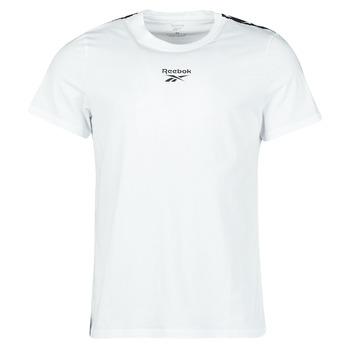 Oblečenie Muži Tričká s krátkym rukávom Reebok Classic TE TAPE TEE Biela