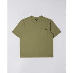 Oblečenie Muži Tričká s krátkym rukávom Edwin T-shirt  Oversized vert kaki