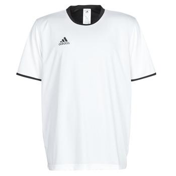 Oblečenie Muži Tričká s krátkym rukávom adidas Performance TAN REV JSY Biela