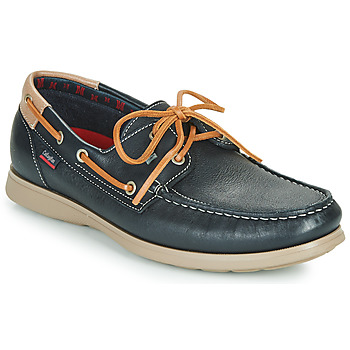Topánky Muži Mokasíny CallagHan EAU Modrá