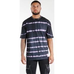 Oblečenie Muži Tričká a polokošele Sixth June T-shirt  Tie & Dye noir/violet