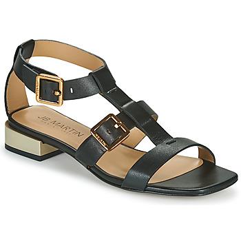 Topánky Dievčatá Sandále JB Martin HARIA Čierna
