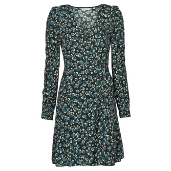 Oblečenie Ženy Krátke šaty Naf Naf LEO R1 Leo / Čierna / Zelená