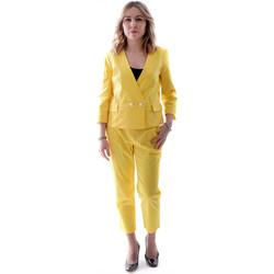 Oblečenie Ženy Obleky Fracomina FR20SP090 žltá