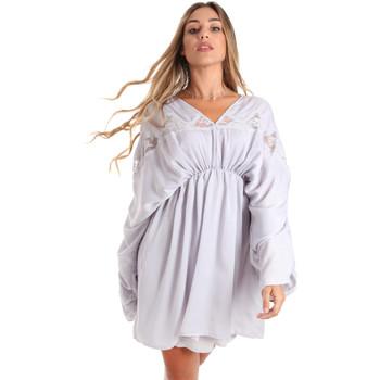 Oblečenie Ženy Krátke šaty Fracomina FR20SMBARBARA Modrá
