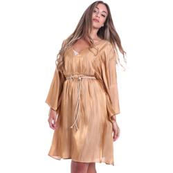 Oblečenie Ženy Krátke šaty Fracomina FR20SMELISABETH Zlato