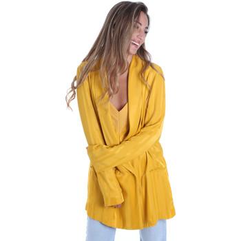 Oblečenie Ženy Saká a blejzre Fracomina FR20SM648 žltá
