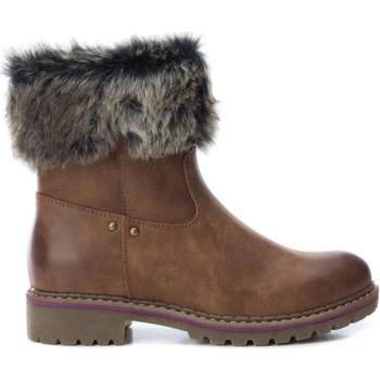 Topánky Ženy Čižmičky Xti 64668 CAMEL Marrón claro