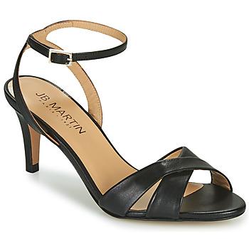 Topánky Dievčatá Sandále JB Martin POETIE Čierna