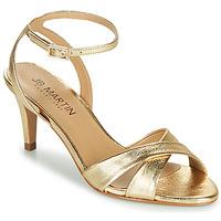 Topánky Dievčatá Sandále JB Martin POETIE Zlatá
