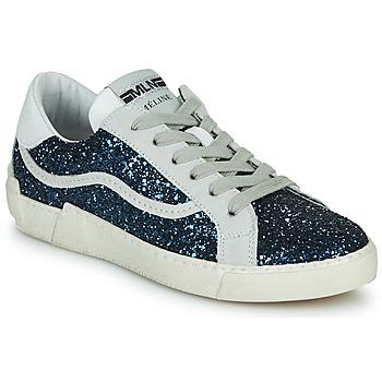 Topánky Ženy Nízke tenisky Meline NKC1395 Námornícka modrá