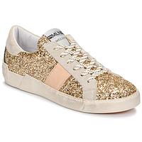 Topánky Ženy Nízke tenisky Meline NKC1381 Zlatá