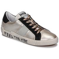 Topánky Ženy Nízke tenisky Meline NK1382 Bronzová / Čierna