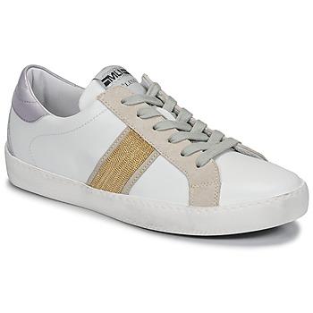 Topánky Ženy Nízke tenisky Meline KUC1414 Biela / Zlatá