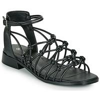 Topánky Ženy Sandále The Divine Factory LS1793H Čierna