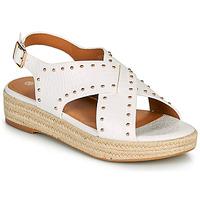 Topánky Ženy Sandále The Divine Factory LS1802J Biela