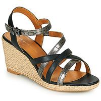Topánky Ženy Sandále The Divine Factory QL4354 Čierna