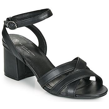 Topánky Ženy Sandále The Divine Factory LS2115 Čierna