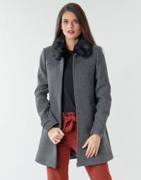 Oblečenie Ženy Kabáty Naf Naf AZAZOU M1 Šedá