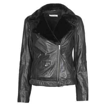Oblečenie Ženy Kožené bundy a syntetické bundy Naf Naf CILL Čierna