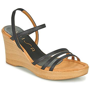 Topánky Ženy Sandále Unisa RENERA Čierna