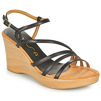 Topánky Ženy Sandále Unisa RABAL Čierna