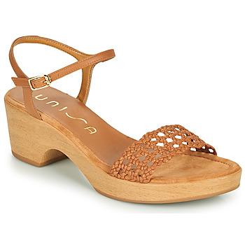Topánky Ženy Sandále Unisa ILOBI Ťavia hnedá