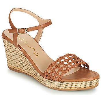 Topánky Ženy Sandále Unisa LOBI Ťavia hnedá