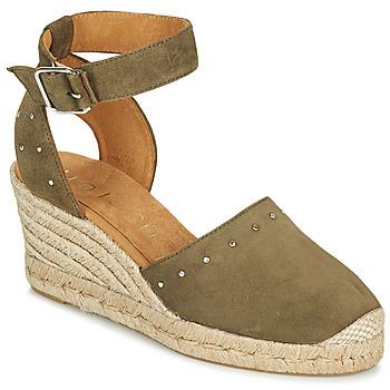Topánky Ženy Sandále Unisa CLIVERS Kaki