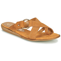 Topánky Ženy Žabky Unisa ADRIEL Ťavia hnedá