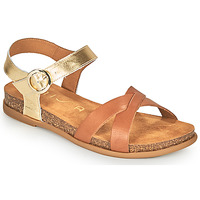Topánky Ženy Sandále Unisa CINCEL Ťavia hnedá