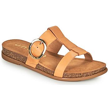 Topánky Ženy Šľapky Unisa CIVETA Ťavia hnedá