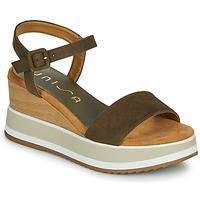 Topánky Ženy Sandále Unisa KOLLA Kaki