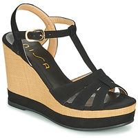 Topánky Ženy Sandále Unisa MANACOR Čierna