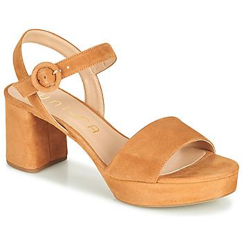 Topánky Ženy Sandále Unisa NENES Ťavia hnedá