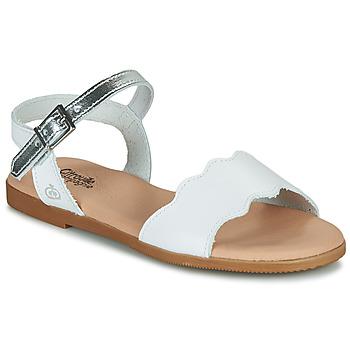 Topánky Dievčatá Sandále Citrouille et Compagnie OBILO Biela
