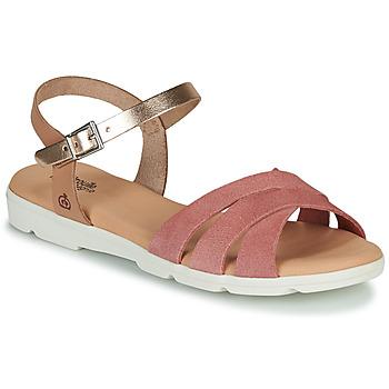 Topánky Dievčatá Sandále Citrouille et Compagnie OBILOU Ružová