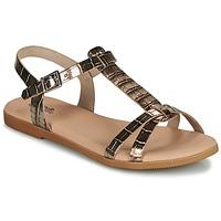 Topánky Dievčatá Sandále Citrouille et Compagnie OBIS Hnedá