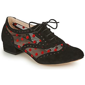 Topánky Ženy Richelieu Fericelli ABIAJE Čierna / Červená